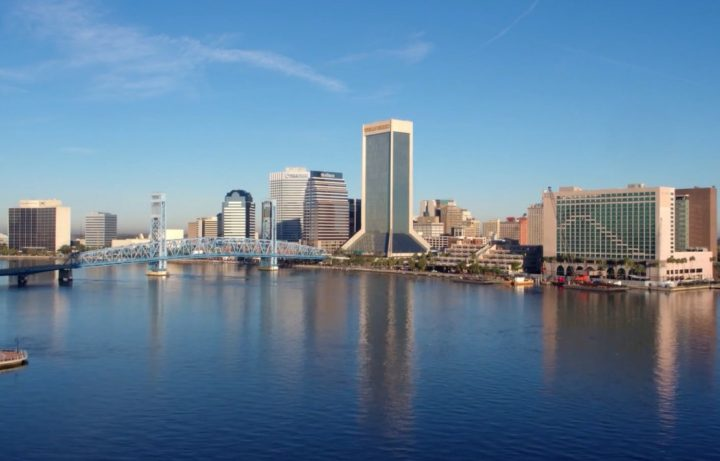 Jacksonville Florida Skyline Judy Hicks